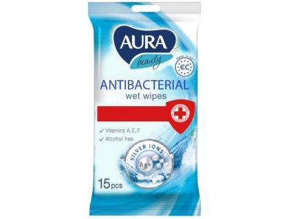 Ubrousky vlhčené Antibakteriální