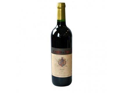 Červené víno Merlot - de Landa Castillo 0,75L