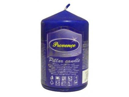 dark blue pillar candle 50x80mm