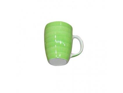 MUG COLOUR GLAZED GREEN, 285ML