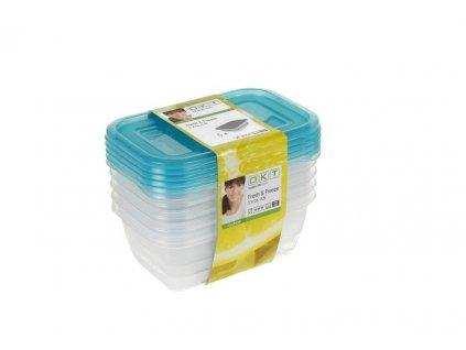 Dóza na potraviny Fresh & Freeze, 5 ks, 0,5 l
