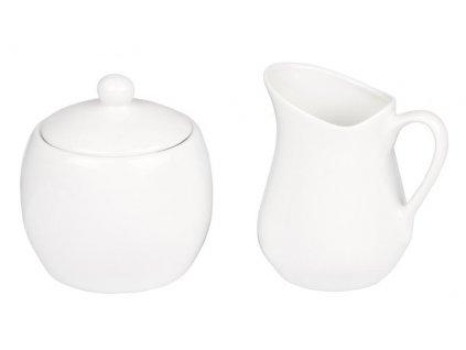 Mlékovka a cukřenka - keramický set