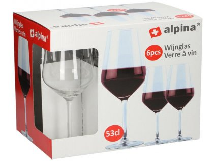 RED WINE GLASS 53CL 6PCS