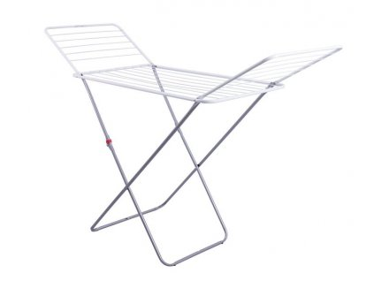 Clothesdryer/metal frame/ whit