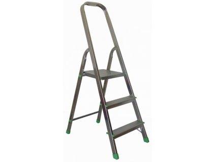 3 steps ladder aluminium