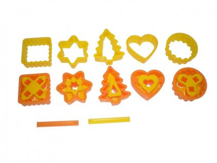 Set of cookie cutters 13pcs 22,5x12,5x3,5cm