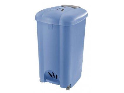 Pedal bin Carolina 50 l, blue