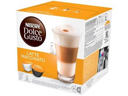 Kapsle NESCAFÉ Latte Macchiatto 16 ks Dolce Gusto