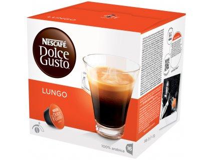 Kapsle NESCAFÉ Caffe Lungo 16 ks Dolce Gusto