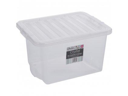 Box WHAM s víkem 24l bílá