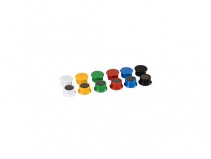 Magnet 851/13mm mix barev (14ks)