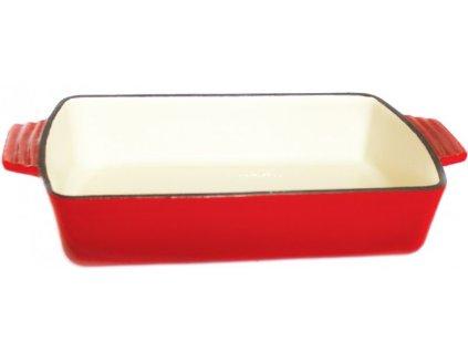 pekáč hran.30,5x20,5x6,0cm,M30,QUEEN LINE (2,6l),LITINA