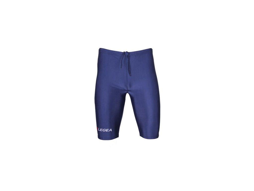 Corsa elastické šortky modrá tm.