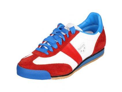 Classic halová obuv bílá-červená