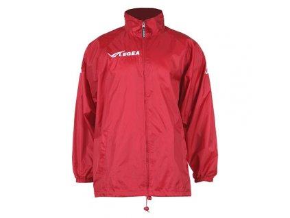 Italia šusťáková bunda červená