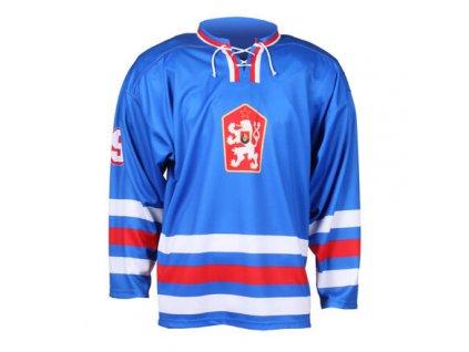 Replika ČSSR 1976 hokejový dres modrá