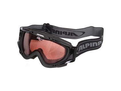 E-rotic brýle lyžařské černá