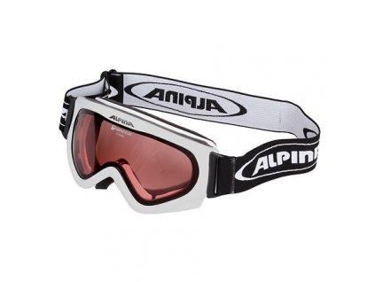 E-rotic brýle lyžařské bílá