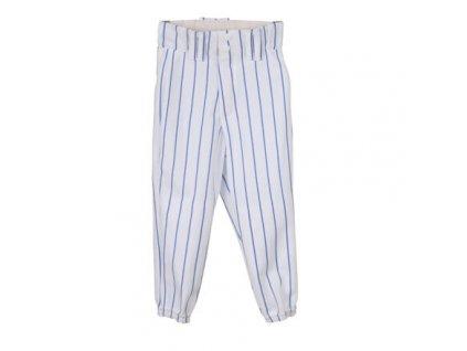 YBP/BP 2115 baseballové kalhoty dětské bílá-modrá