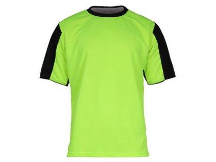 Dynamo dres s krátkými rukávy žlutá neon