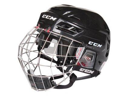 Resistance Combo hokejová helma s mřížkou černá