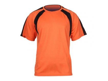 Chelsea dres s krátkými rukávy oranžová