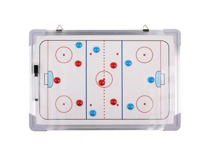 Hokej 43 magnetická trenérská tabule, závěsná