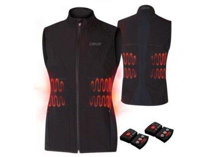 Heat Vest 1.0 Set dámská vyhřívaná vesta černá