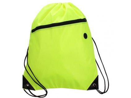 Yoga Bag sportovní taška fluo zelená