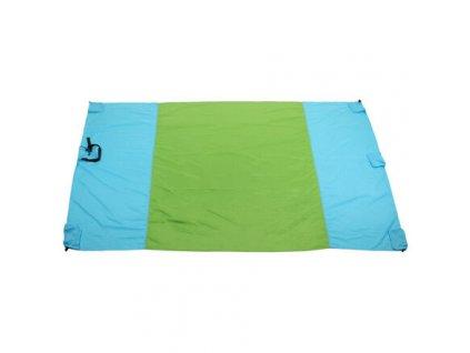 Camp Pad 210 kempingová podložka modrá-zelená