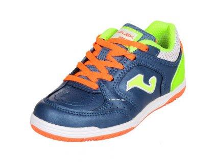 Top Flex JR 2033 dětská sálová obuv modrá