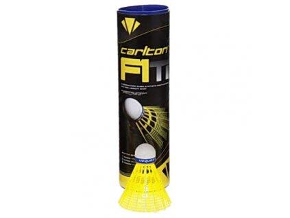 F1 Ti Yellow badmintonové míčky modrá