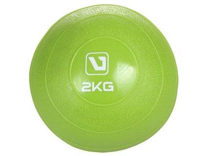 Weight ball míč na cvičení zelená