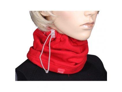 Winter multifunkční šátek červená