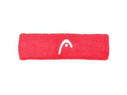 Headband froté čelenka červená