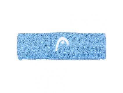 Headband froté čelenka modrá