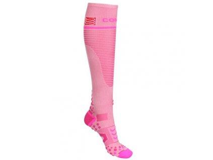 Full Socks V2.1 kompresní podkolenky růžová