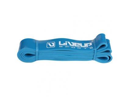 Aerobic guma posilovací guma 208 x 0,45 cm modrá