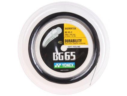 BG 65 badmintonový výplet 200 m černá