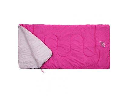 Junior spací pytel deka růžová