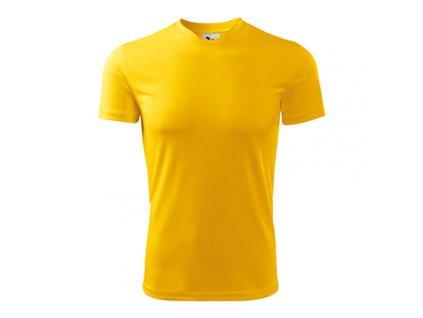Fantasy dětské triko žlutá