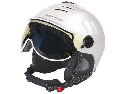 Volcano VIP lyžařská helma perleťová