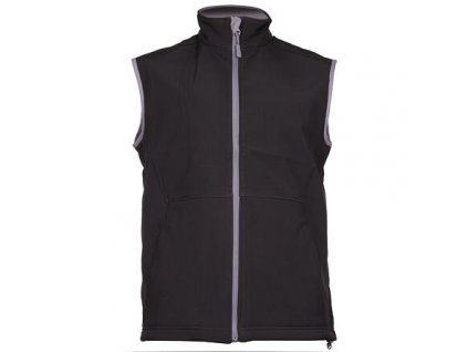 Vision pánská softshellová vesta černá