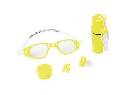 Plavecký set 26002 dětské plavecké brýle žlutá