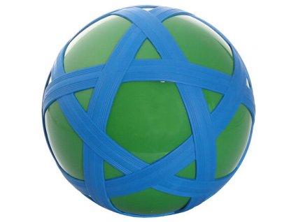 Cross Ball gumový míč zelená-modrá