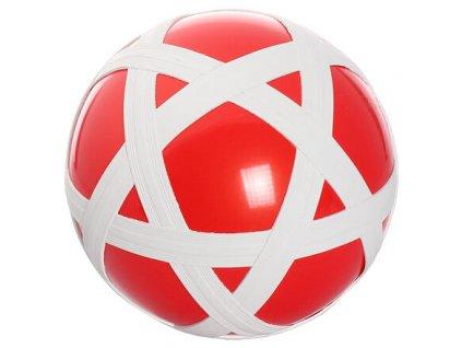 Cross Ball gumový míč červená-bílá