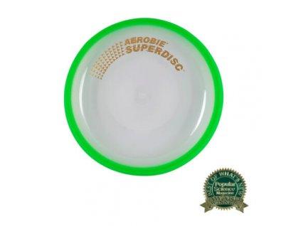 Superdisc létající talíř zelená