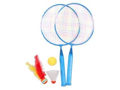 Training Set JR badmintonová sada modrá