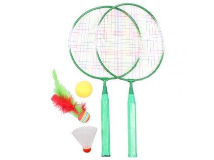 Training Set JR badmintonová sada zelená