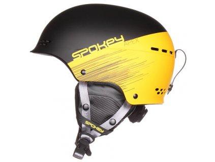 Apex lyžařská helma žlutá